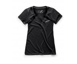 ALPINESTARS tričko AGELESS VNECK dámske black