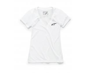 ALPINESTARS tričko AGELESS VNECK dámske white