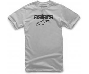 ALPINESTARS tričko HERITAGE BLAZE silver