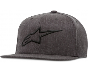 ALPINESTARS kšiltovka AGELESS FLATBILL charcoal heather/black