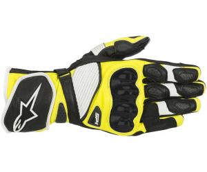 ALPINESTARS rukavice SP-1 V2 black/white/fluo yellow