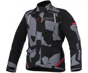 ALPINESTARS bunda ANDES V2 DRYSTAR black / camo / red