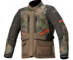 ALPINESTARS bunda ANDES V3 DRYSTAR dark khaki/camo