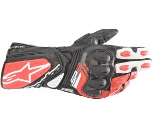 ALPINESTARS rukavice SP-8 V3 black/bright white/red