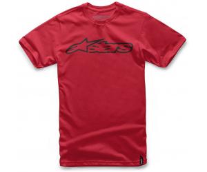 ALPINESTARS tričko BLAZE red / black