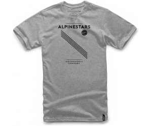 ALPINESTARS triko MONACO grey heather