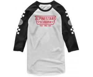 ALPINESTARS triko IRONSMITH white/black