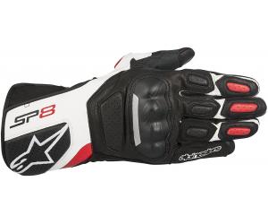 ALPINESTARS rukavice SP-8 v2 black/white/red
