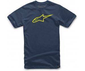 ALPINESTARS triko AGELESS navy/hi vis yellow