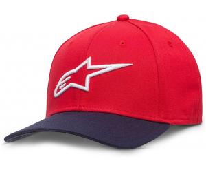 ALPINESTARS kšiltovka AGELESS CURVE Flexfit red/navy