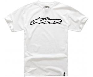 ALPINESTARS triko BLAZE CLASSIC white/black