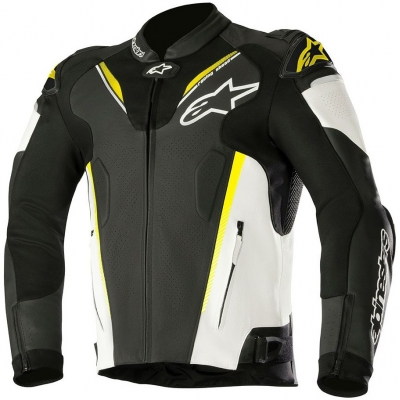 ALPINESTARS bunda ATEM V3 black/white/fluo yellow