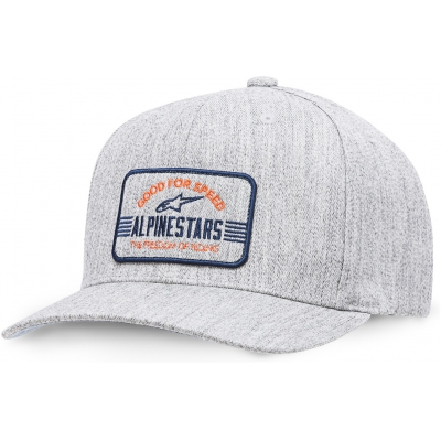 ALPINESTARS kšiltovka BARS grey heather