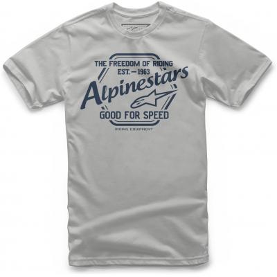ALPINESTARS triko CRISPER silver