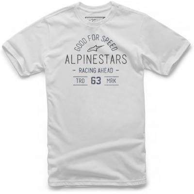ALPINESTARS tričko TRIBUTE white
