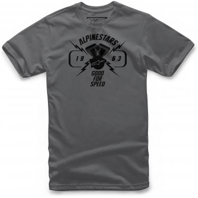 ALPINESTARS tričko BITE charcoal