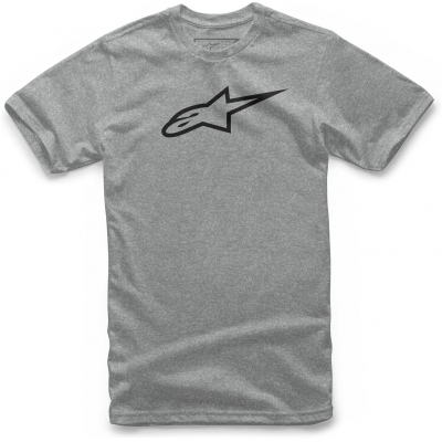 ALPINESTARS tričko AGELESS grey heather/black