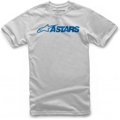 ALPINESTARS tričko MX BLAZE silver