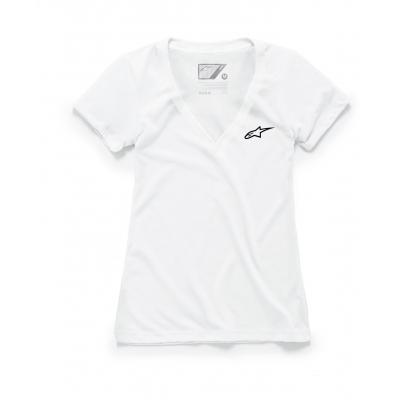 ALPINESTARS triko AGELESS VNECK dámské white