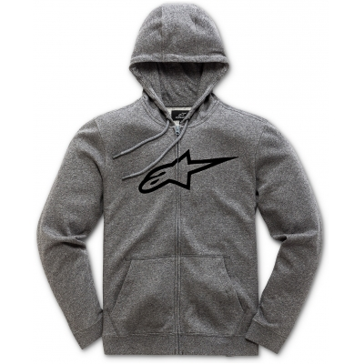 ALPINESTARS mikina AGELESS dámská grey heather/black