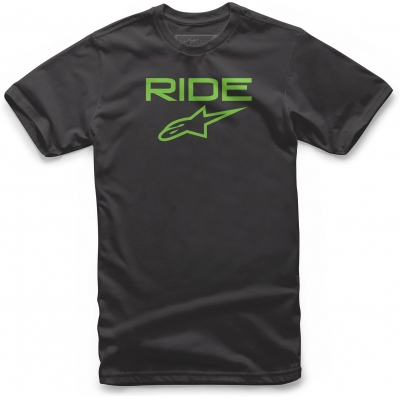ALPINESTARS triko RIDE 2.0 black/green