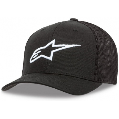 ALPINESTARS kšiltovka AGELESS STRETCH black/white