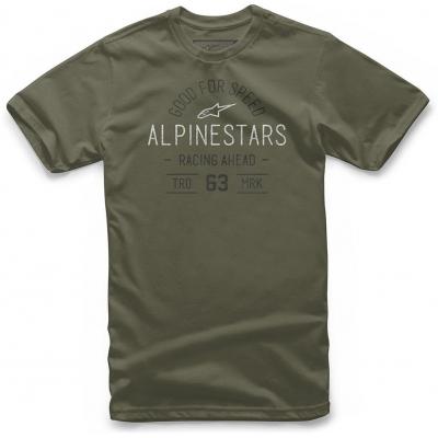 ALPINESTARS tričko TRIBUTE military
