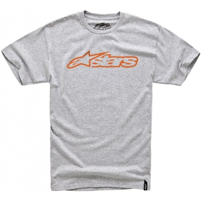 ALPINESTARS triko BLAZE charcoal heather/orange