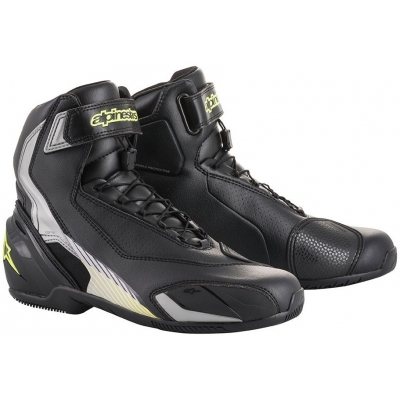 ALPINESTARS boty SP-1 V2 black silver yellow fluo 4cb0004926