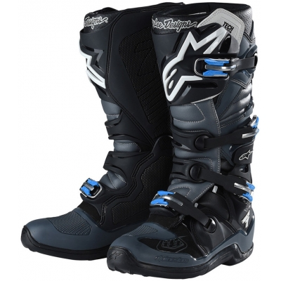 ALPINESTARS boty TECH 7 Troy Lee Designs grey/black