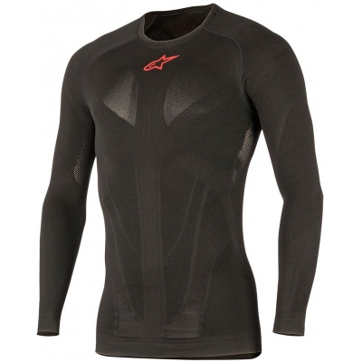 ALPINESTARS termo tričko TECH SUMMER LS black/red