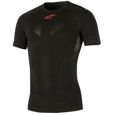 ALPINESTARS termo tričko TECH SUMMER SS black/red