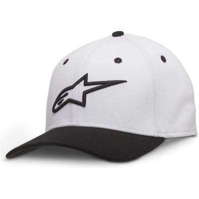 ALPINESTARS kšiltovka AGELESS CURVE white/black
