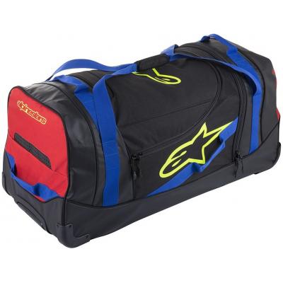 ALPINESTARS cestovná taška KOMODO black/blue/yellow fluo