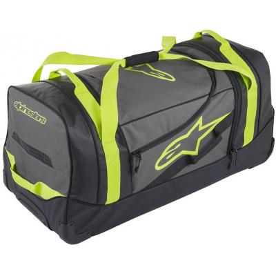 ALPINESTARS cestovná taška KOMODO black/anthracite/yellow fluo