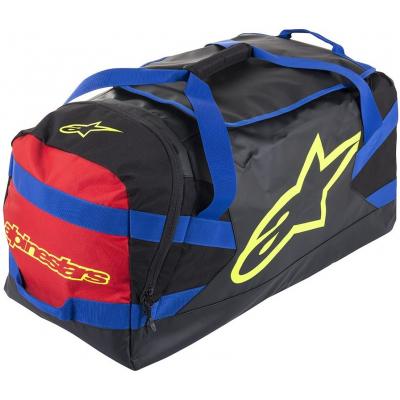 ALPINESTARS cestovná taška GOANNA DUFFLE black/blue/red/yellow fluo