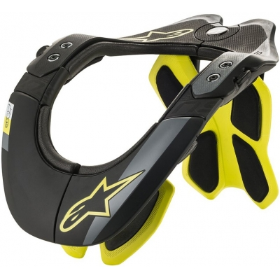 ALPINESTARS chránič krku BNS TECH-2 black/fluo-yellow