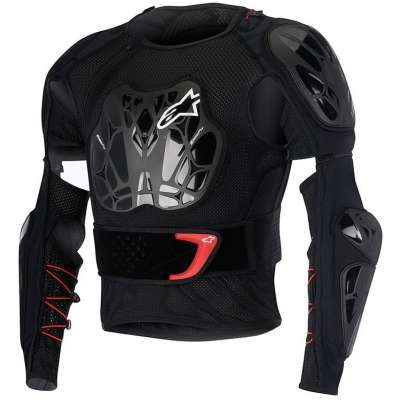 ALPINESTARS chránič těla BIONIC TECH black/white/red