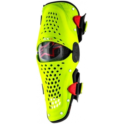 ALPINESTARS chránič kolena SX-1 yellow fluo/red