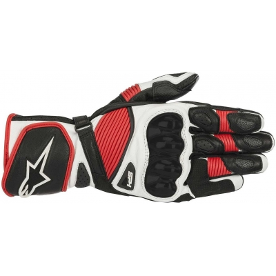 ALPINESTARS rukavice SP-1 V2 black/white/red