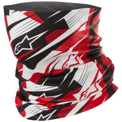 ALPINESTARS nákrčník BLURRED black/white/red