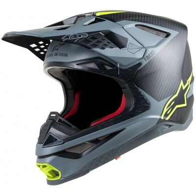 ALPINESTARS přilba SUPERTECH M10 Meta black/grey/fluo yellow