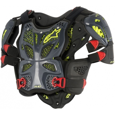 ALPINESTARS chránič hrudi A-10 anthracite/black/red