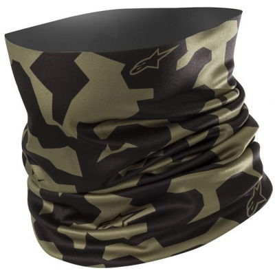 ALPINESTARS nákrčník CAMO military green/black
