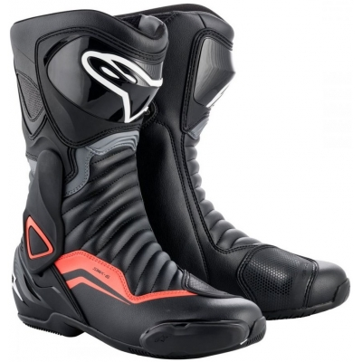 ALPINESTARS boty SMX-6 v2 black/grey/fluo red