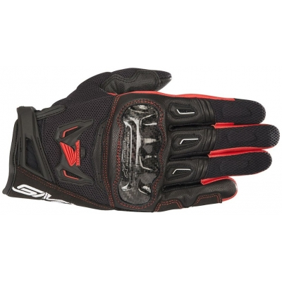ALPINESTARS rukavice SMX-2 AIR CARBON V2 Honda black/red
