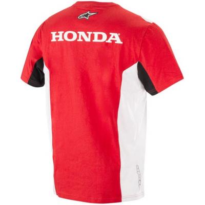 ALPINESTARS triko HONDA red/white