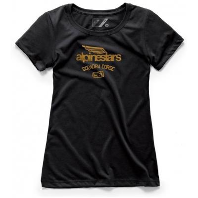 ALPINESTARS triko WINGED TEAM dámské black