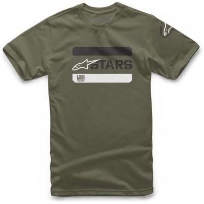 ALPINESTARS triko Barreda military green