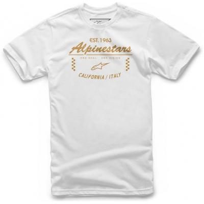 ALPINESTARS triko HOME BASE white